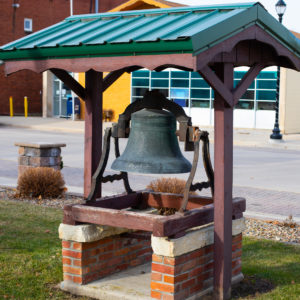 Elgin, Iowa, town square bell