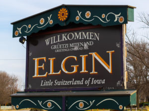 Visit Elgin, Iowa