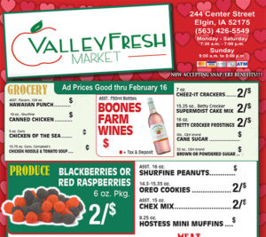 Valley Fresh Market Weekly Ad